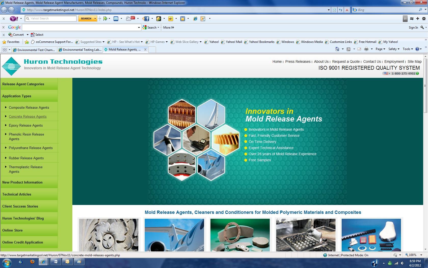 Industrial web designers industrial website design for Industrial design sites