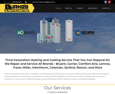 Website Design Portfolio MI