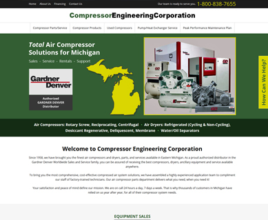 Web Design Samples Indianapolis, IN