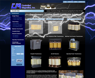 SEO Website Design Portfolio Michigan