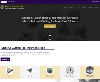 Website Design Service Portfolio Michigan