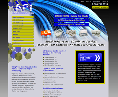 SEO Website Design Samples Indianapolis, IN