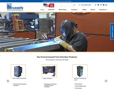 Website Design Portfolio Russells Tech