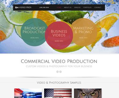 Corporate Website Design Portfolio Michigan