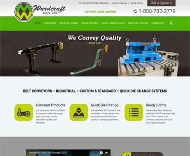 Web Design Portfolio Michigan