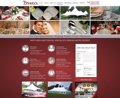 Perry's Tents and Events