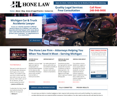 Website Designers for Attorneys Portfolio Michigan